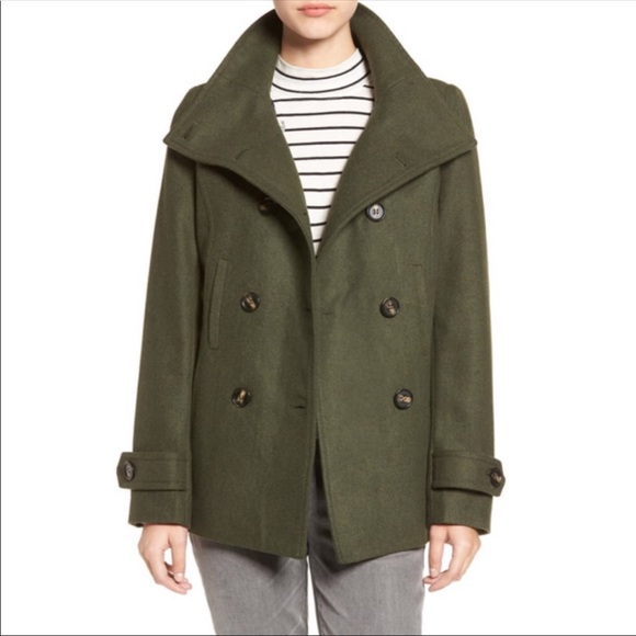 half off compare price top-rated Thread & Supply double breasted peacoat
